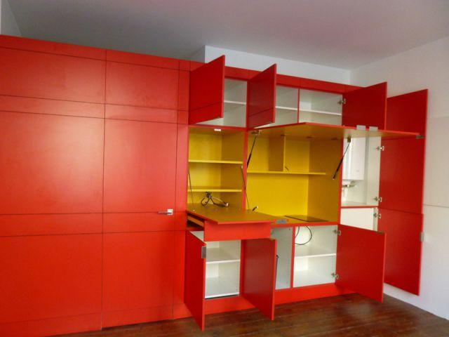 Un meuble inspiré de l'oeuvre de Mondrian - Elodie Bonnet