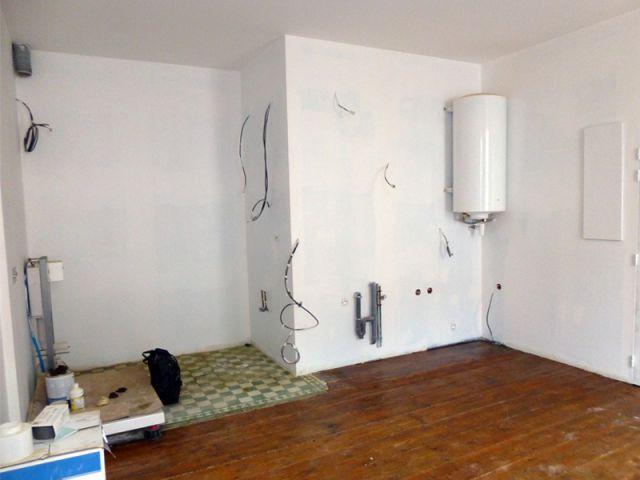 Studio côté salle de bains - Elodie Bonnet