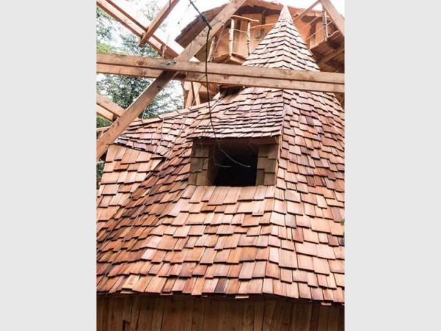 Trois cabanes perchées - Les cabanes perchées