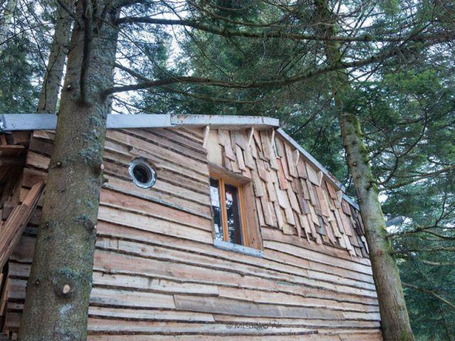 La cabane du bûcheron