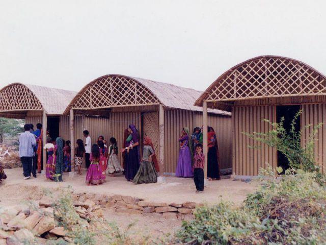 Maison en papier, 2001, Bhuj, Inde