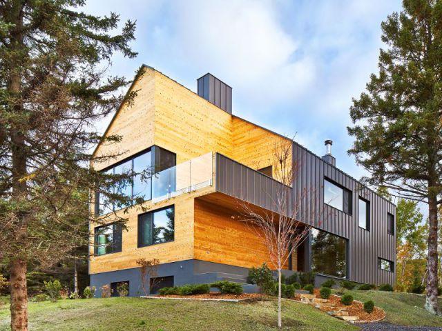 Construction d'une résidence au Canada : Malbaie VIII, La Grange