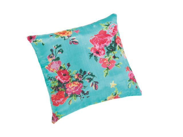 Coussin en soie ROSE ANGLAISE Waterflower - coussin Capsule