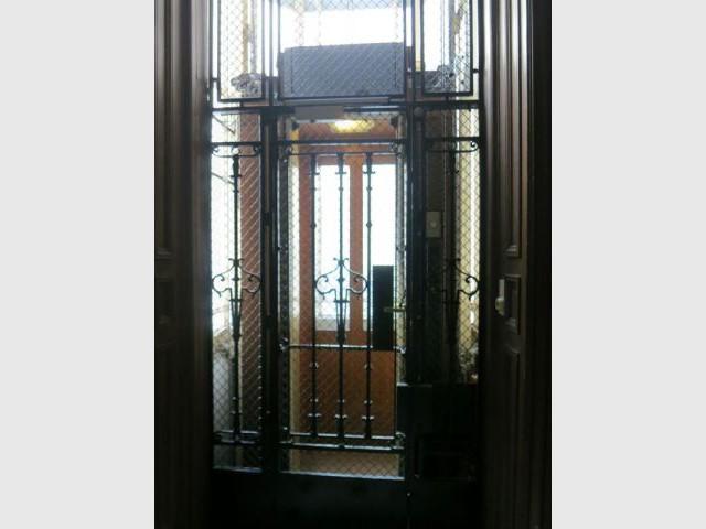 Ascenseur actuel - Chantier Isover - Paris 8
