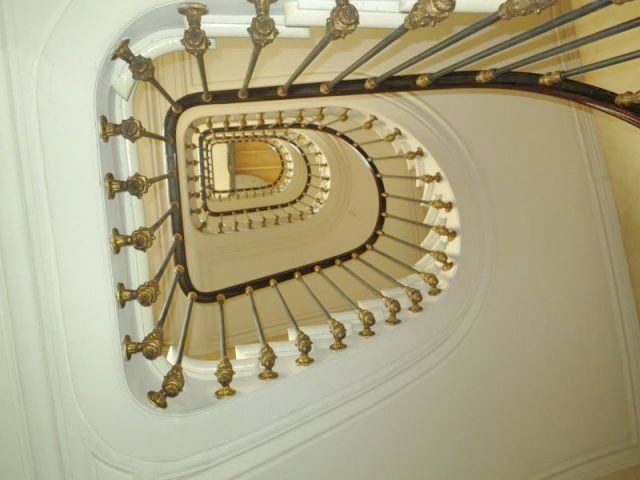 Escalier actuel - Chantier Isover - Paris 8