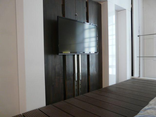 Une télévision qui monte et qui descend - Concept Duplex