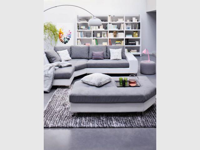 Un grand meuble qui se fond dans le décor - Meuble bibliothèque