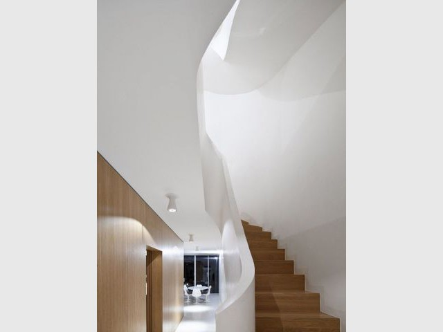 Un intérieur moderne - Maison Zundel Cristea
