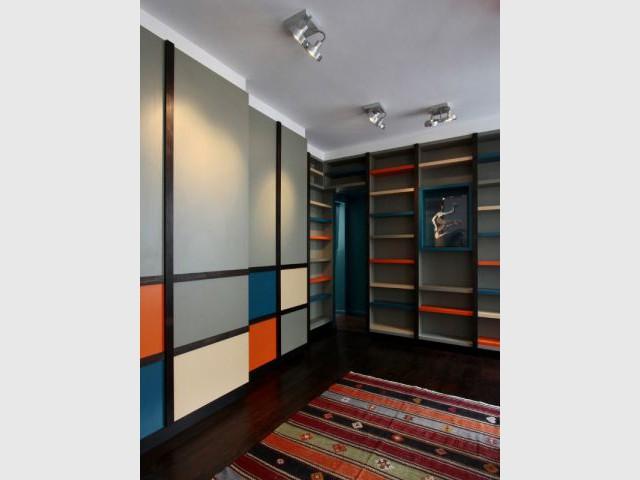 Une pièce de vie agréable et pratique - Rénovation d'un duplex