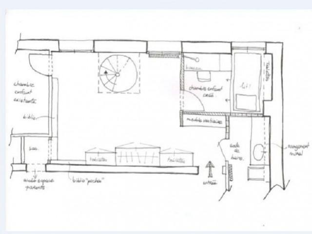 Une sensation d'espace - Rénovation d'un duplex