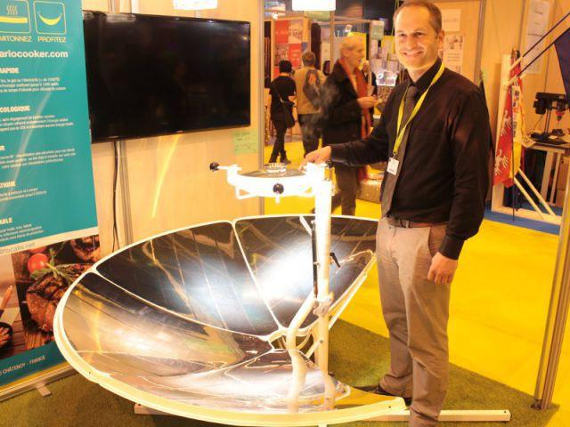 Solario cooker, un cuiseur solaire XXL - Concours Lépine 2014