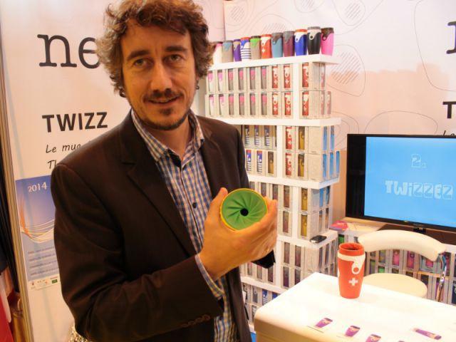 Twizz, une fermeture étanche pour mug - Concours Lépine 2014