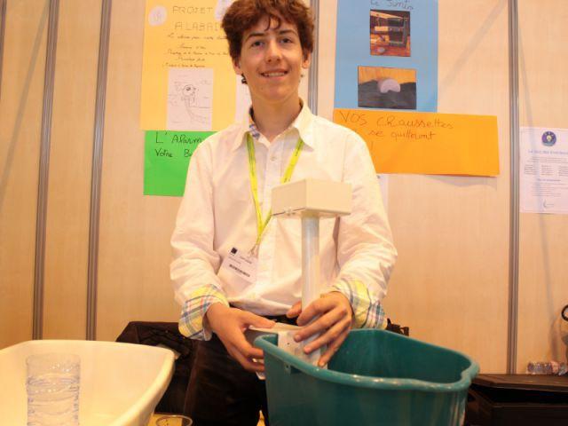 Alabain, un système d'alarme pour baignoire - Concours Lépine 2014