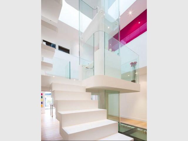 Des escaliers parfaitement intégrés - La White House