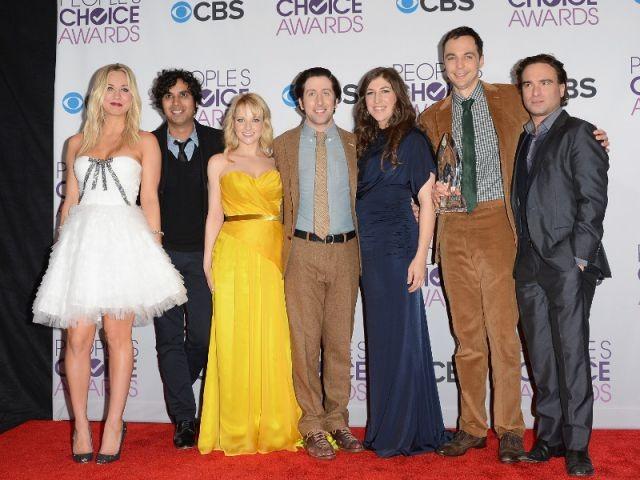 L'équipe de la série Big Bang Theory