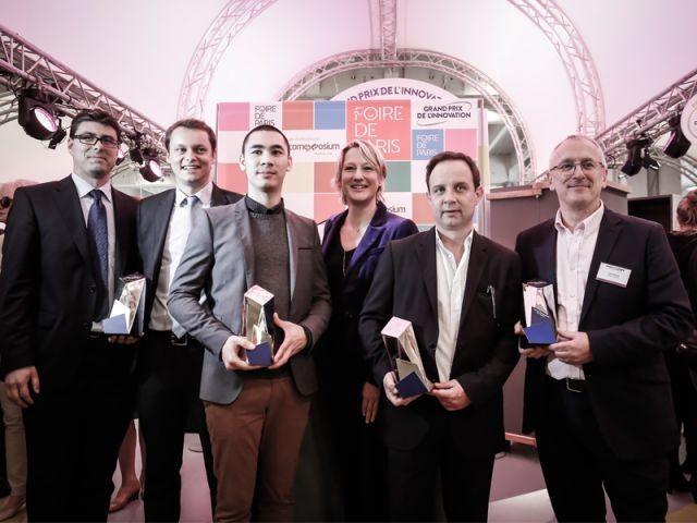 Trois récompenses et un coup de coeur  - Foire de Paris 2014