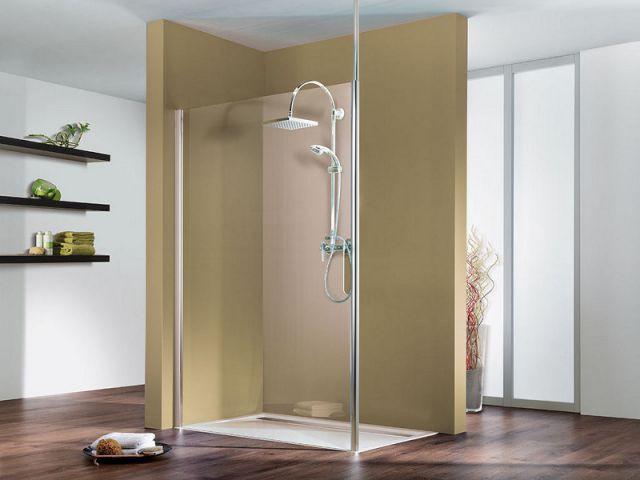 Une douche centrale pour une ambiance épurée - Douche à l'italienne