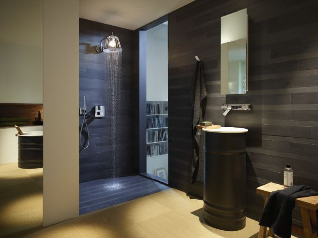 douche l 39 italienne 20 am nagements originaux. Black Bedroom Furniture Sets. Home Design Ideas
