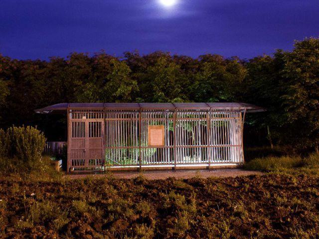 Le choix de prises de vues nocturnes - ''L'Habitable inhabité'' par Guillaume Romero