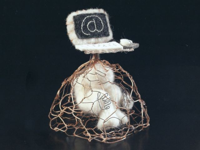 """Too web or not to web"", des formes modernes en matériaux naturels - 10e Nuit européenne des musées"