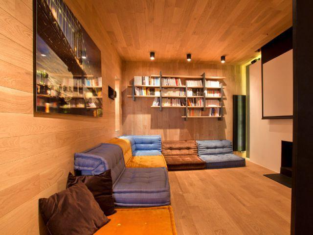 Une pièce de vie boisée et cosy - Appartement familly loft