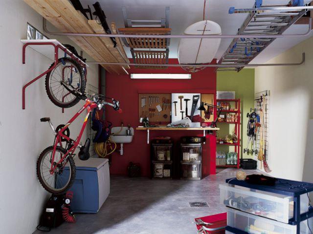 Des aménagements pour garages et sous-sols