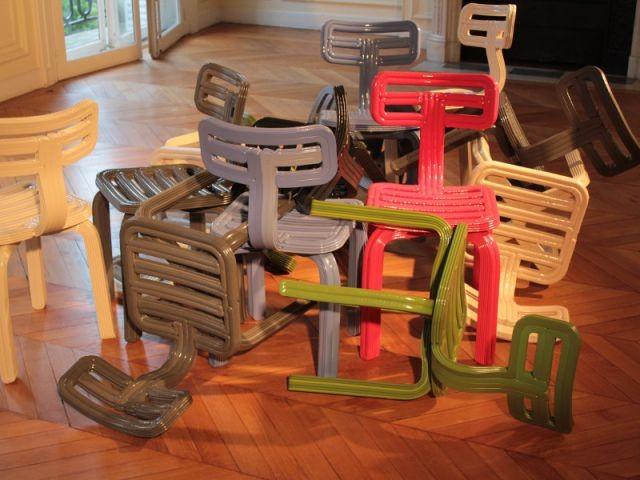 Ducht design pOps Up et les chaises recyclées - Designer's Days 2014