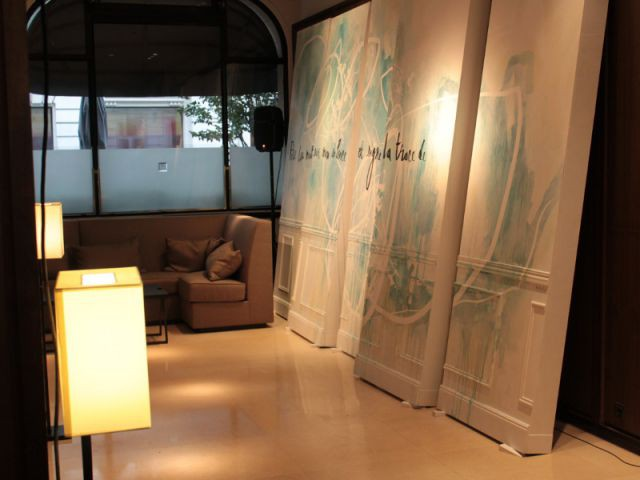 L'art mural s'invite à l'hôtel de Livry - Designer's Days 2014