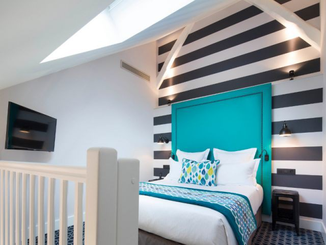 Les grands volumes de l'hôtel ont été préservés - Un ancien atelier de fabrication transformé en hôtel chic et moderne