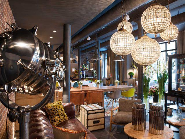 Un ancien atelier de fabrication transformé en hôtel chic et moderne