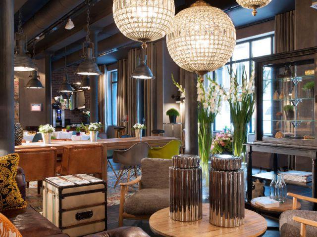 Un ancien atelier transformé en hôtel chic