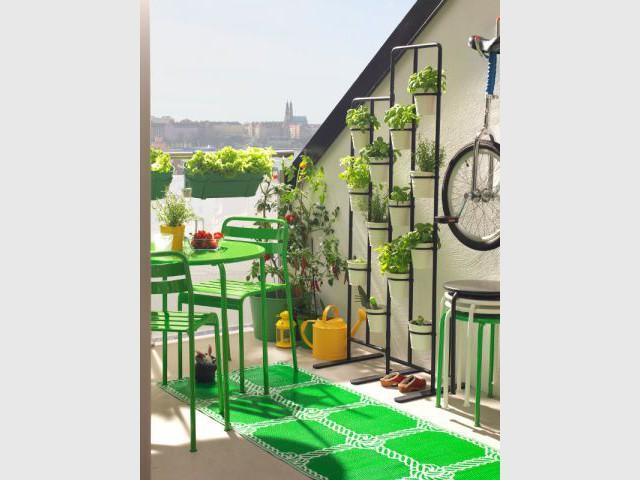 Pour un balcon ultra fonctionnel - Une sélection d'aménagements pour balcons