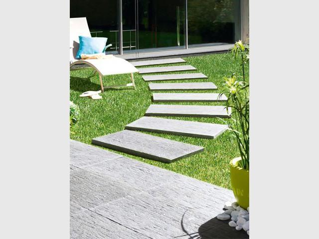 id es pour embellir et structurer son all e de jardin. Black Bedroom Furniture Sets. Home Design Ideas