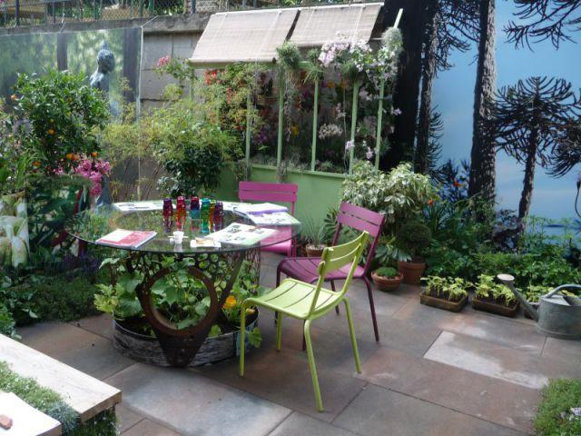 Gourmandise en terrasse - Jardins, jardin 2014