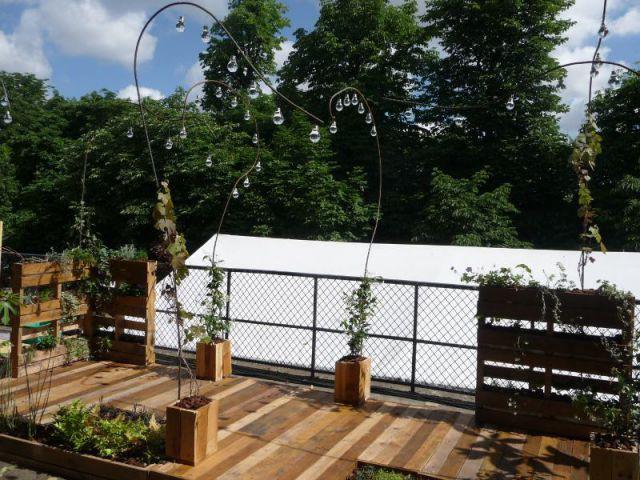 Un balcon Recyclage - Jardins, jardin 2014