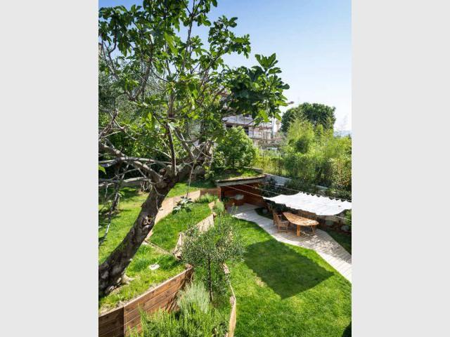 Une végétation choisie avec soin - Jardin stratifié en Italie