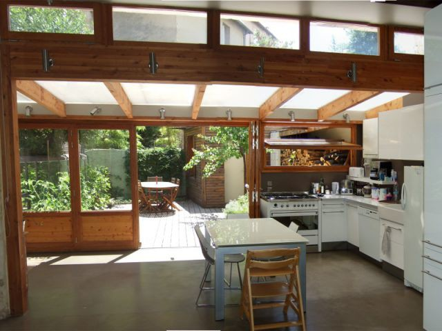 Un salon lumineux et doux toute l'année - Rénovation bois - Projet Craponne