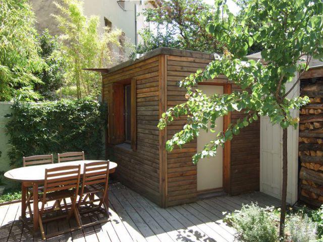 Un jardin accueillant 100% bois - Rénovation bois - Projet Craponne