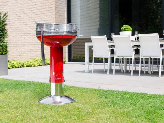 Un barbecue rond et convivial - Dix barbecues originaux et innovants