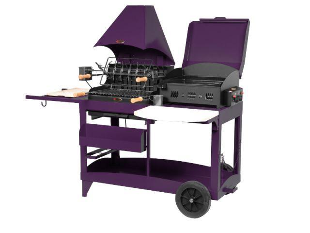 Un barbecue pop multi-usage - Dix barbecues originaux et innovants