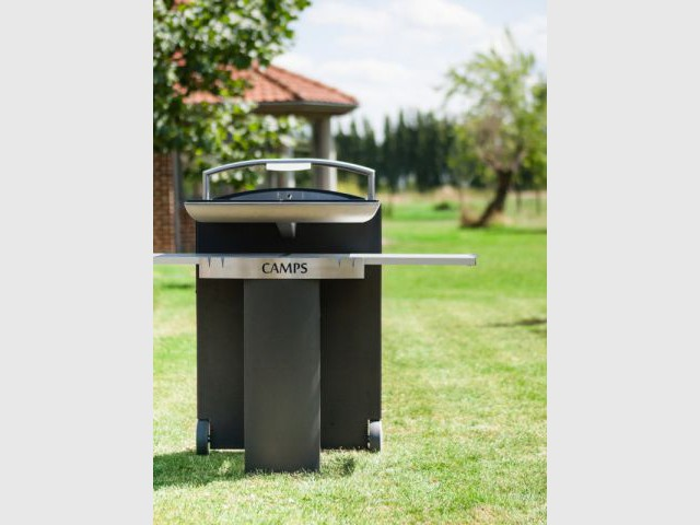 Une cuisson à induction pour un barbecue - Dix barbecues originaux et innovants