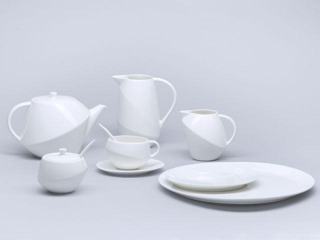 Le service à thé signé Terence Conran