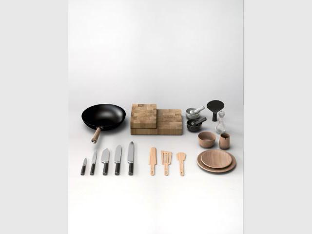 Une collection commercialisée à partir d'octobre 2014 - Une collection d'ustensiles signée Thierry Marx