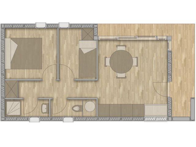 Plan  - maison qui déménage