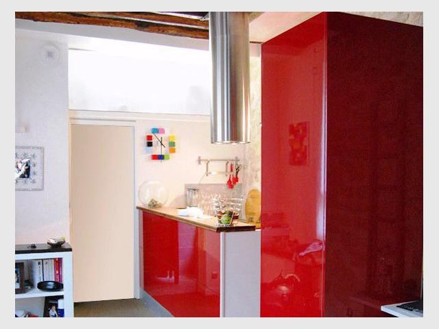 Une loge de gardien transformée en studio moderne