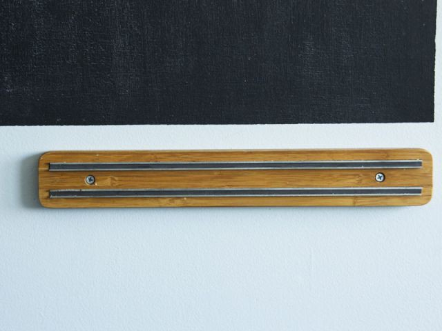 Un rangement malin avec une réglette magnétique
