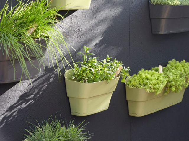 Des jardinières à fixer au mur - Jardinières originales