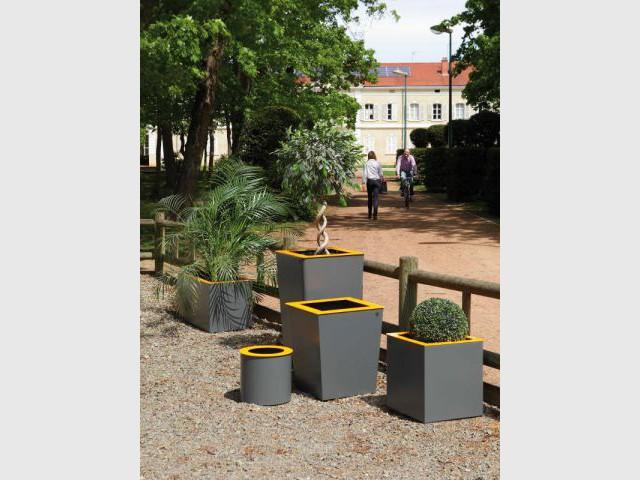 Des jardinières évolutives - Jardinières originales