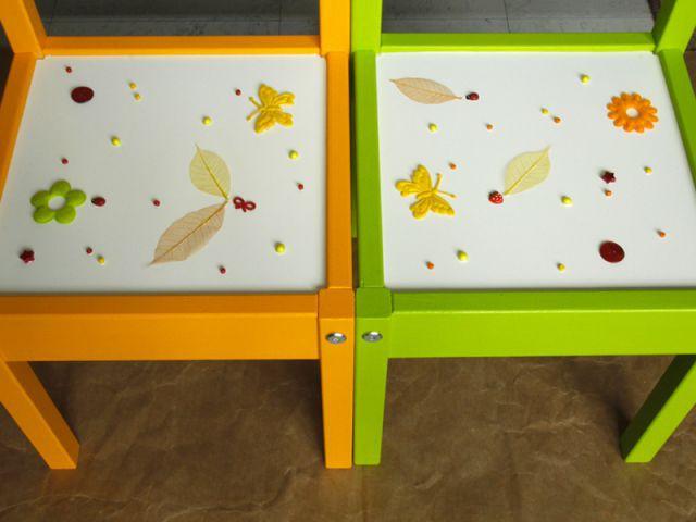 Customiser un meuble pour enfant : Décorer les chaises - Tutoriel customiser mobilier pour enfants