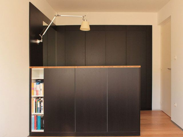 am nager un petit espace des meubles cloisons reconfigurent un appartement. Black Bedroom Furniture Sets. Home Design Ideas
